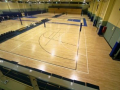 Timber Sports Floor with 33 different line marking courts